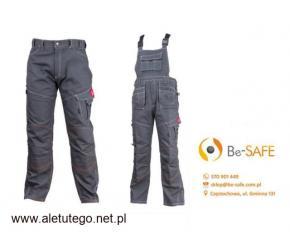 Spodnie robocze i ogrodniczki URG-R URGENT r. 44-60